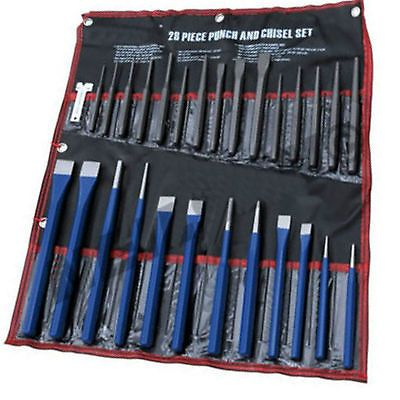 Punch and Chisel Set 28 Piece